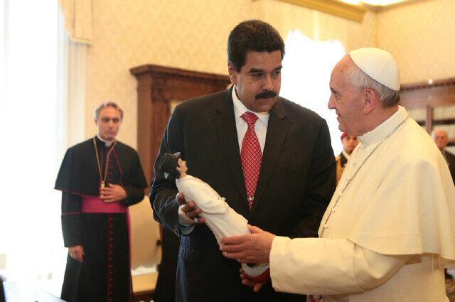 Nicolas Maduro y el Papa-02-Fidel Ernesto Vasquez.jpg large
