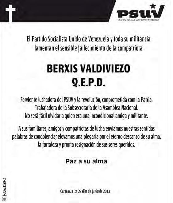 Obituario Berxis Valdivieso-Fidel Ernesto Vasquez (1)