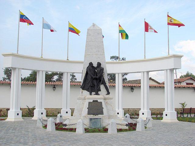 Santa Ana-Plaza Bolivar Monumento al Armisticio-Fidel Ernesto Vasquez