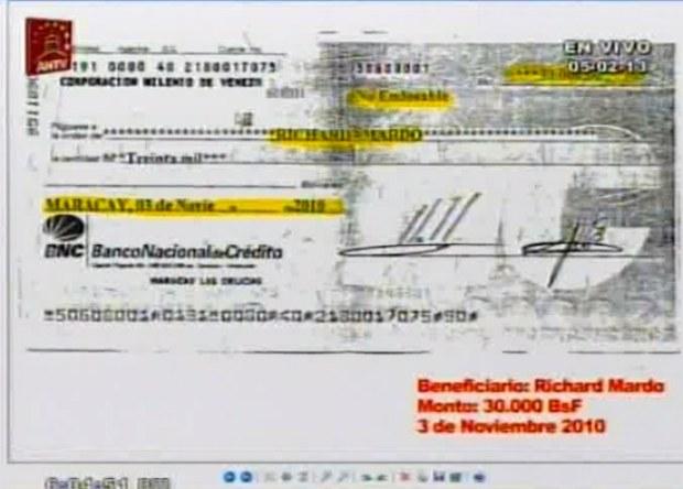 cheques de diputado Richard Mardo-Fidel Ernesto Vasquez (1)