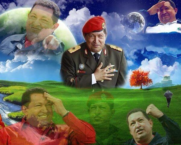 COMANDANTE  HUGO CHAVEZ- FIDEL ERNESTO VASQUEZ