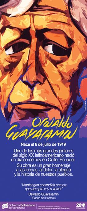 Guayasamín-Fidel Ernesto Vasquez