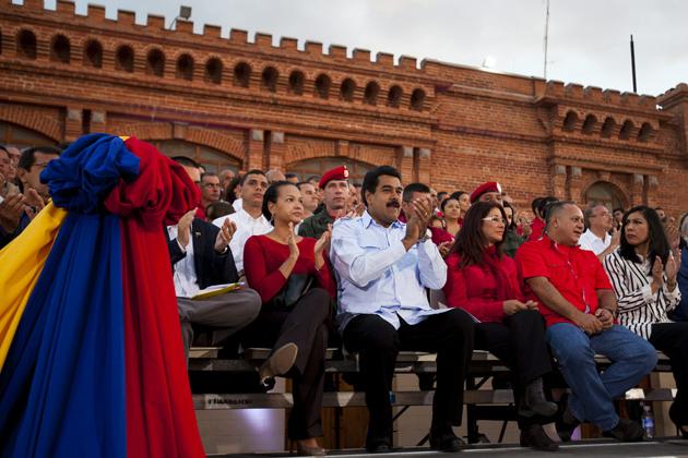 Nicolas Maduro.Fidel Ernesto Vasquez