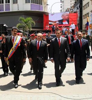 Presidente Nicolas Maduro llega a la Asamblea Nacional-02-Fidel Ernesto Vasquez