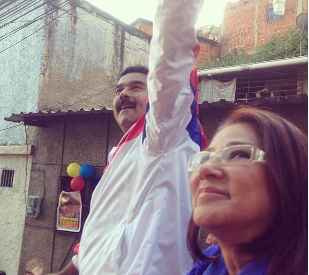 Nicolas Maduro-Cilia Flores-Fidel Ernesto Vasquez