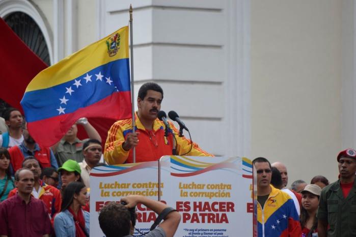 Nicolas Maduro M-Fidel Ernesto Vasquez