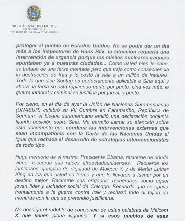 CARTA DEL PRESIDENTE NICOLAS MADURO A OBAMA 01-Fidel Ernesto Vasquez (3)