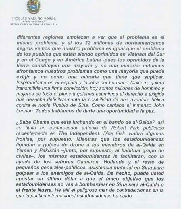 CARTA DEL PRESIDENTE NICOLAS MADURO A OBAMA 01-Fidel Ernesto Vasquez (4)