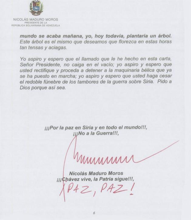 CARTA DEL PRESIDENTE NICOLAS MADURO A OBAMA 01-Fidel Ernesto Vasquez (6)