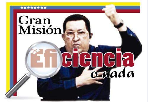 Mision Eficiencia o nada-Fidel Ernesto Vasquez