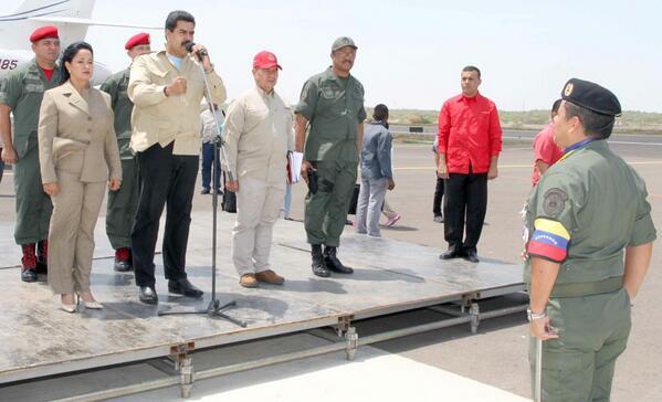 Nicolas Maduro-Stella Lugo-Fidel Ernesto Vasquez