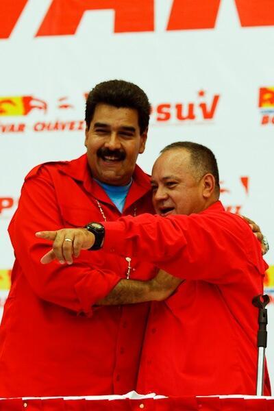 Nuicolas y Diosdado reunidos en Vargas-Fidel Ernesto Vasquez