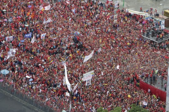Hugo Chavez Mitin 4 octubre de 2012-Fidel Ernesto Vasquez (10)