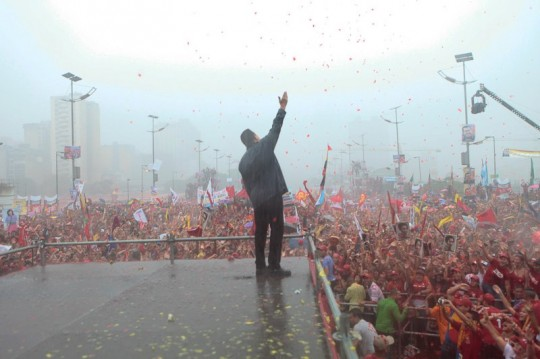 Hugo Chavez Mitin 4 octubre de 2012-Fidel Ernesto Vasquez (11)