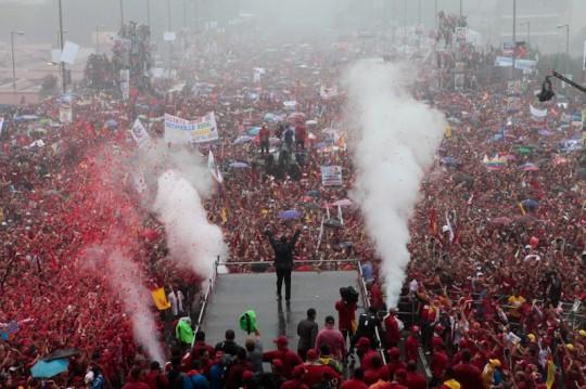 Hugo Chavez Mitin 4 octubre de 2012-Fidel Ernesto Vasquez (13)