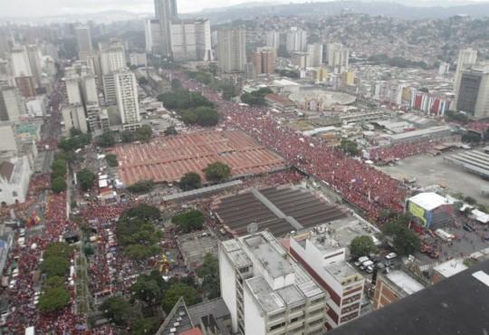 Hugo Chavez Mitin 4 octubre de 2012-Fidel Ernesto Vasquez (16)