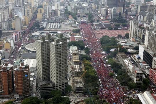 Hugo Chavez Mitin 4 octubre de 2012-Fidel Ernesto Vasquez (17)