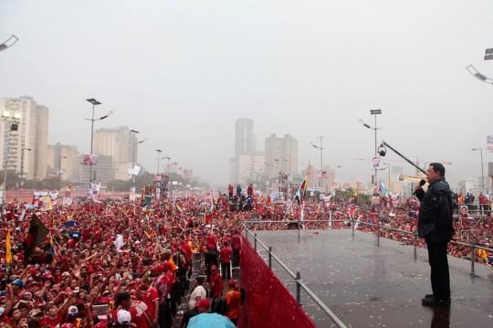 Hugo Chavez Mitin 4 octubre de 2012-Fidel Ernesto Vasquez (18)