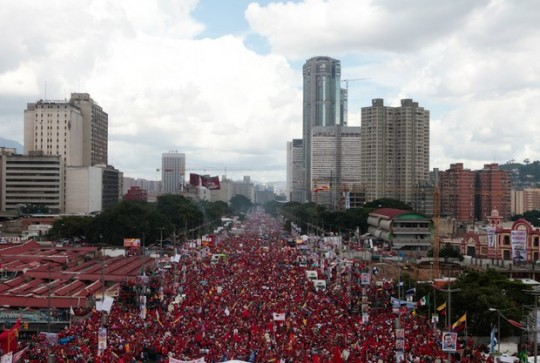 Hugo Chavez Mitin 4 octubre de 2012-Fidel Ernesto Vasquez (19)