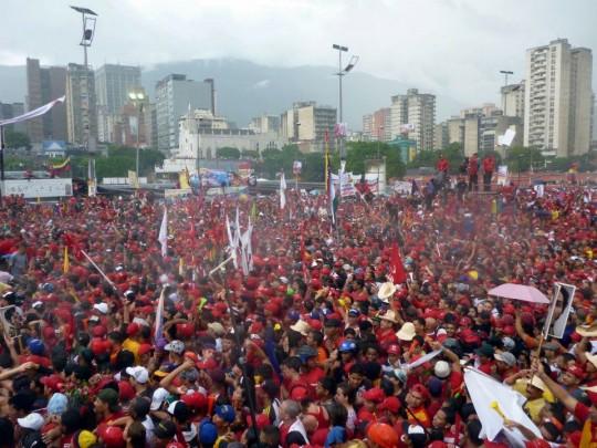 Hugo Chavez Mitin 4 octubre de 2012-Fidel Ernesto Vasquez (4)