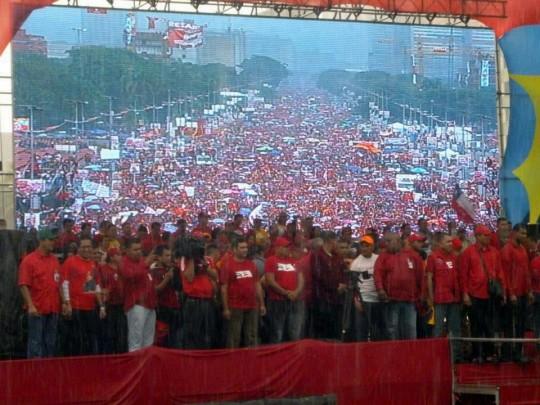 Hugo Chavez Mitin 4 octubre de 2012-Fidel Ernesto Vasquez (5)