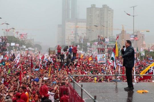 Hugo Chavez Mitin 4 octubre de 2012-Fidel Ernesto Vasquez (6)