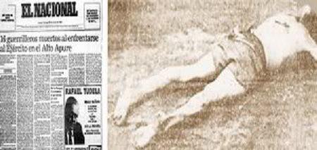 Masacre de El Amparo-Fidel Ernesto Vasquez