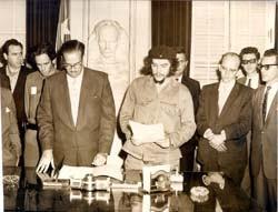 Che asume el Banco Central de Cuba-Fidel Ernesto Vasquez