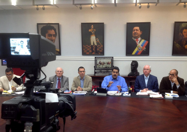 Consejo de ministros-Fidel Ernesto Vasquez