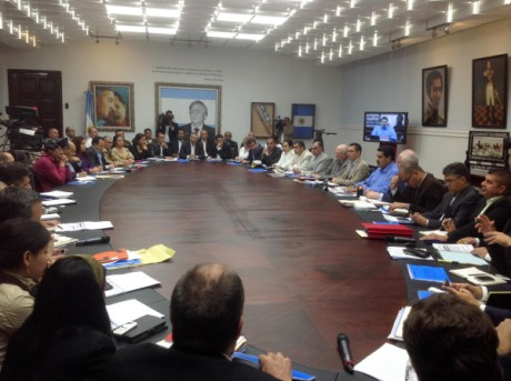 Nicolas Maduro en consejo de ministros-Fidel Ernesto Vasquez