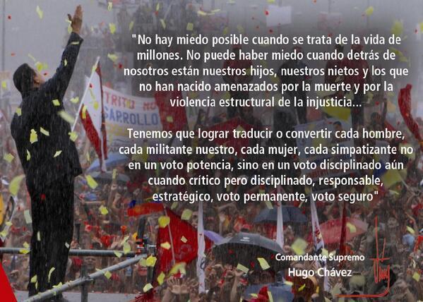 Comandante Hugo Chavez-Fidel Ernesto Vasquez.jpg large