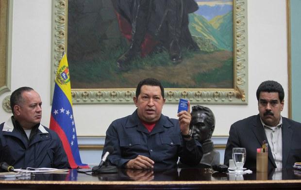Comandante Supremo Hugo Chavez-Diosdado Cabello-Nicolas Maduro-Fidel Ernesto Vasquez