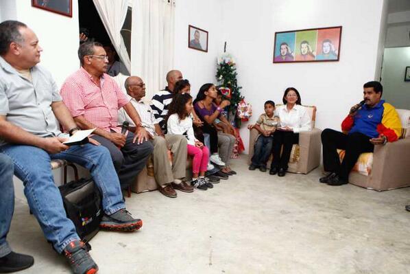 Diosdado Cabello-Garcia Carneiro-Nicolas Maduro-Fidel Ernesto Vasquez