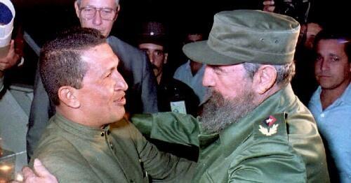 Hugo Chavez- Fidel Castro 1994-Fidel Ernesto Vasquez