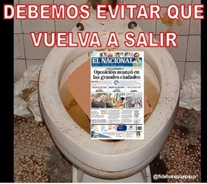 Periodico El Nacional-Fidel Ernesto Vasquez