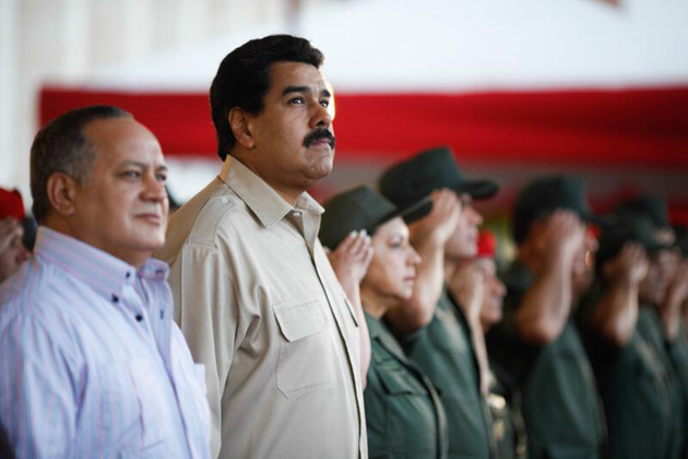 Presidente Nicolas Maduro-Diosdado Cabello-Fidel Ernesto Vasquez