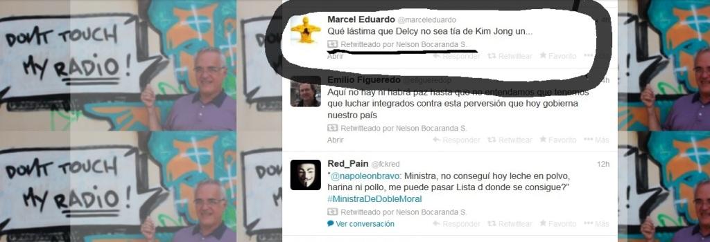 Bocaranda Retwittea mensaje de asesinato-Fidel Ernesto Vasquez