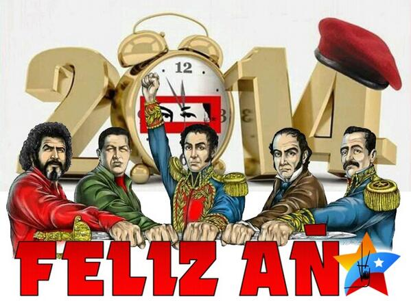 Feliz Año 2014-Fidel Ernesto Vasquez