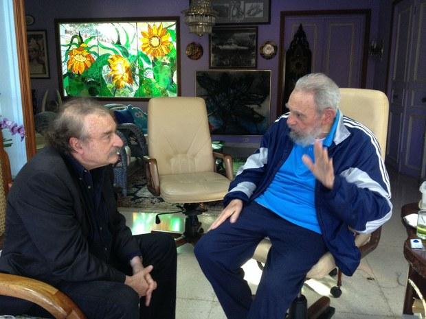 Fidel Castro- Ignacio Ramonet-Fidel Ernesto vasquez