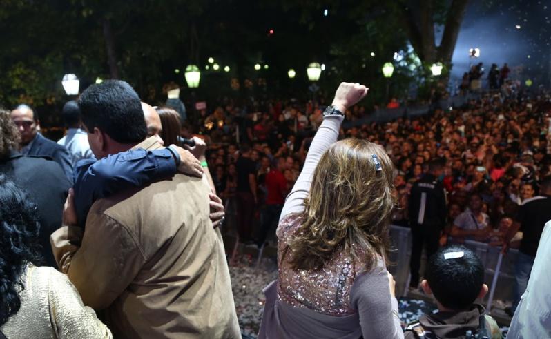 Jorge Rodriguez-Jacqueline Faria-Nicolas Maduro-Fidel Ernesto Vasquez