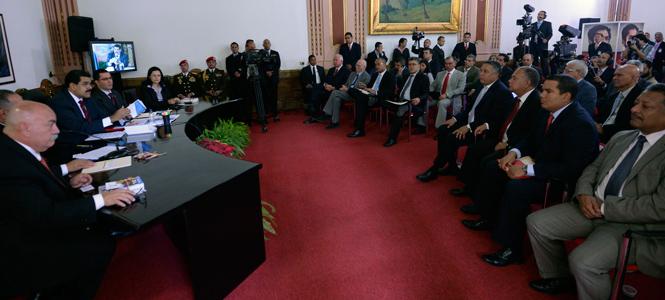 Nicolas Maduro-Directiva Asamblea Nacional-Fidel Ernesto Vasquez