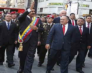 Nicolas Maduro Moros-Fidel Ernesto Vasquez