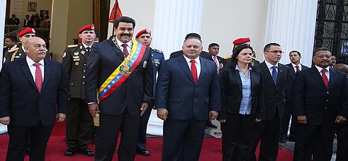 Presidente Nicolas Maduro-Fidel Ernesto Vasquez