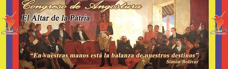 Congreso de Angostura-Fidel Ernesto Vasquez
