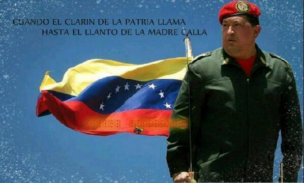 Comandante Hugo Chavez-Fidel Ernesto Vasquez