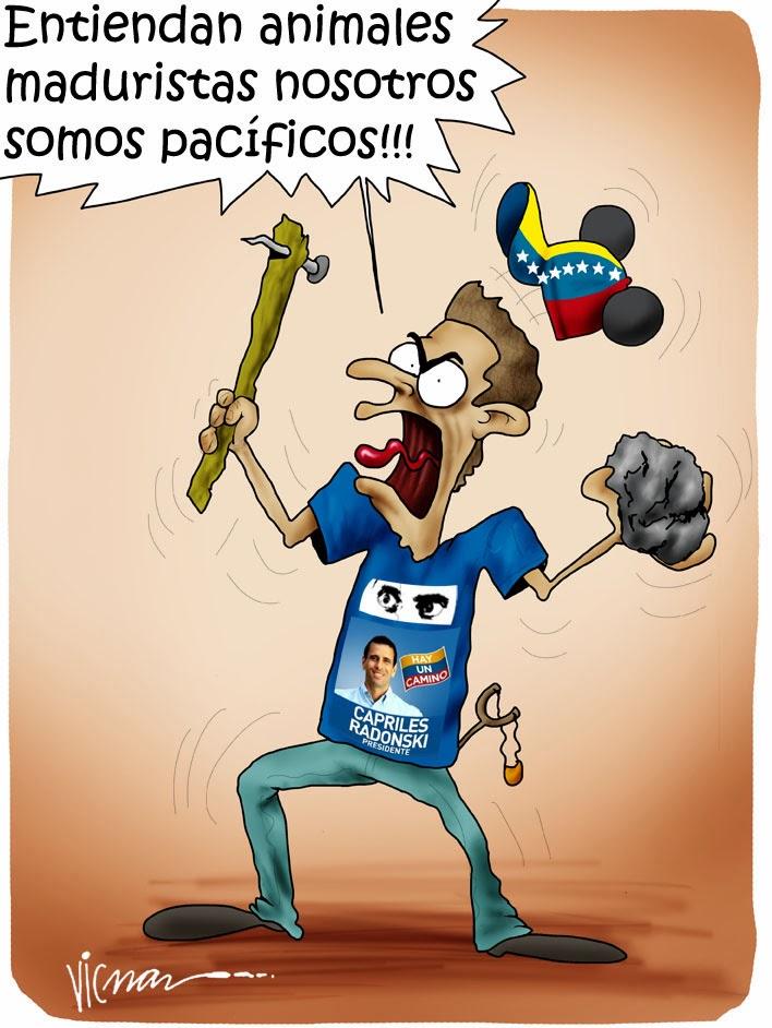 guarimbero fascista-Fidel Ernesto Vasquez