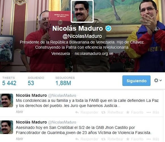 Nicolas Maduro- Fidel Ernesto Vasquez