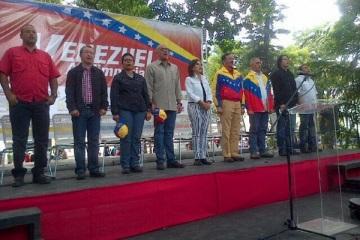 Alcaldes Y gobernadores bolivarianos-Fidel Ernesto Vasquez