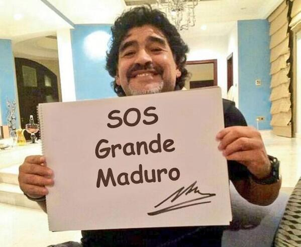 Diego Armando Maradona-Fidel Ernesto Vasquez