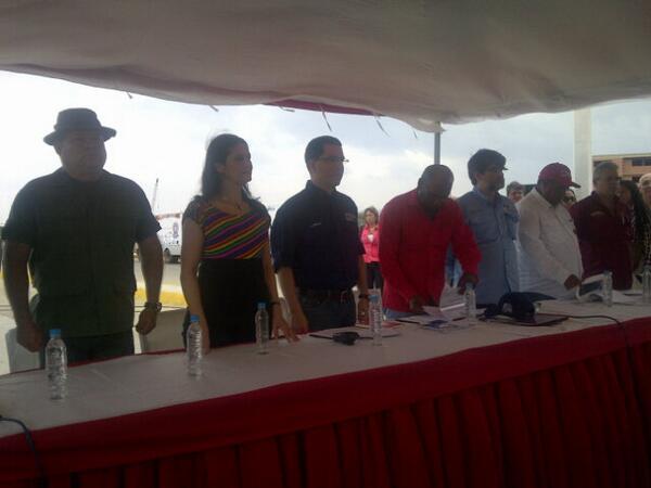 Jorge Arreaza-Aristobulo Isturiz-Fidel Ernesto Vasquez